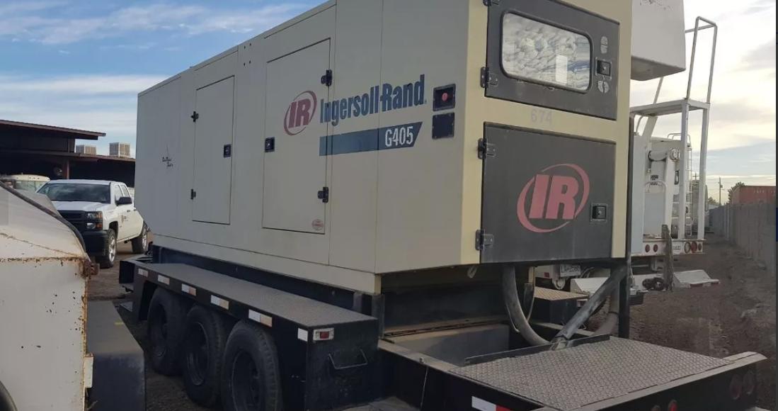 Generador Ingersoll Rand 405