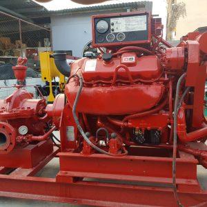 Sistema Contra Incendios GM 750