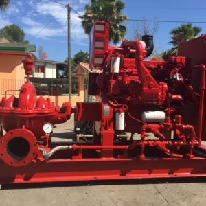 Sistema Contra Incendios Peerless Pump 2500